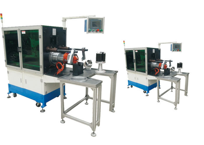 SGS Audit Winding Inserting Machine , CNC Servo Motor Stator Coil Insertion Machine SMT-KW300