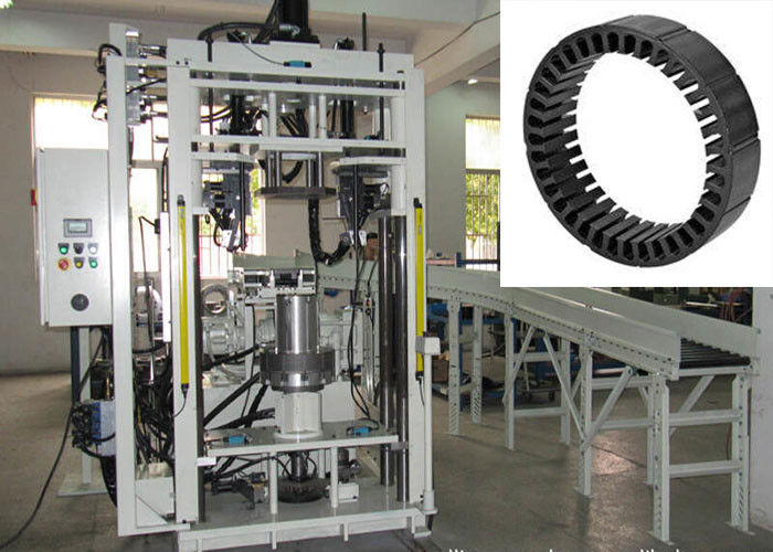 Electric Motor Stator Core Assembly  Machine , Motor Winding Equipment