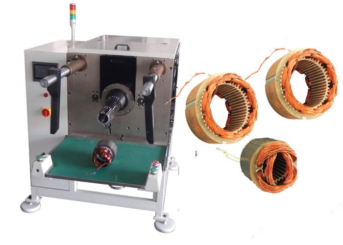 Motor Stator Slot Automatic Coil Inserting Machine 110-210 mm Stator ID