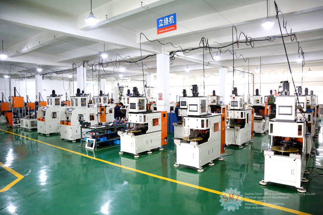 CE Automatic Vertical Motor Wire Coil Winding Machine with Two Winding Heads